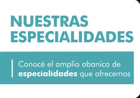 CMP Nuestras especialidades